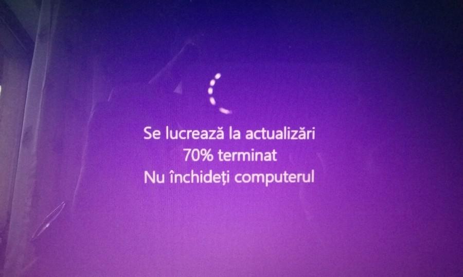 Ti s-a blocat PC-ul in timpul unei actualizari periodice de Win10? Iata cum sa-l repari