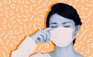 Ochi uscați, masca ta de față îți face ochii să se simtă uscați?